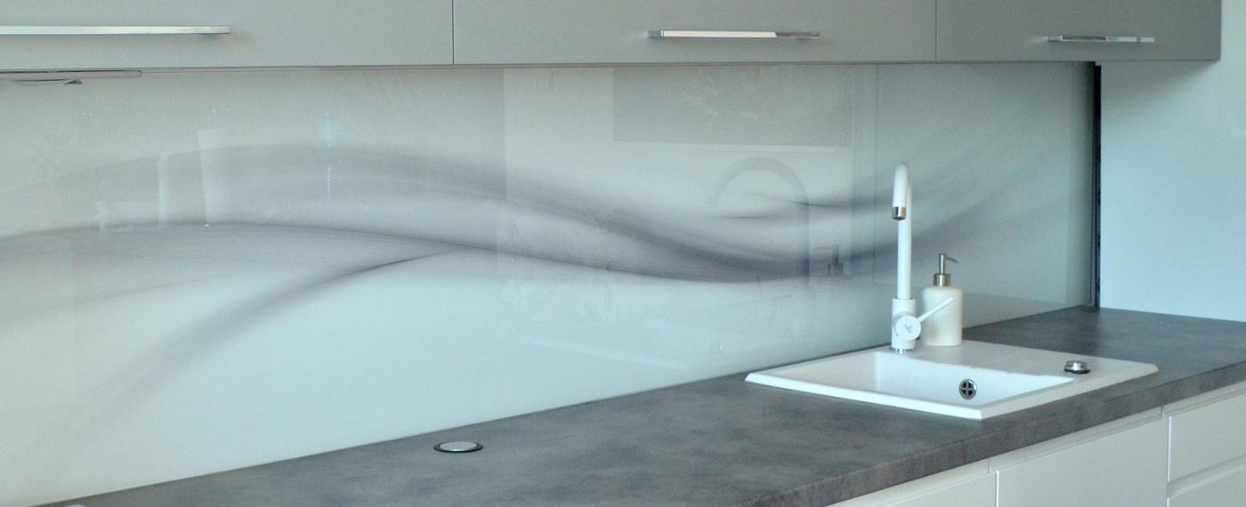 Panele kuchenne - szkło hartowane